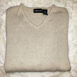 Men V-Neck Sweater